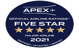 Gulf Air Receives Five Star Major Official Airline Rating at