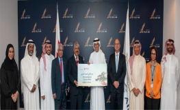Gulf Air and Royal Charity Organization Raise USD91,904.16 through Passenger Donations Project
