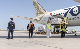 Lulu Group Airlifts Food Consignment on Gulf Air