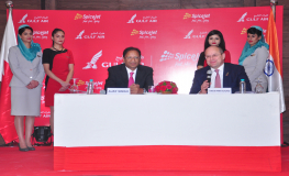Gulf Air and SpiceJet Sign MoU to Explore Greater Cooperation