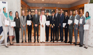 Gulf Air Staff Honored for Outstanding Performance