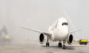 Gulf Air Welcomes First Boeing 787-9 Dreamliner 1
