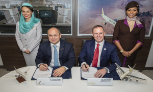 Gulf Air and Etihad Aviation Group MoU