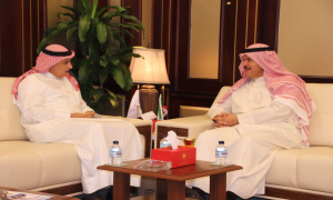 Gulf Air Chairman meets with Kuwait Civil Aviation