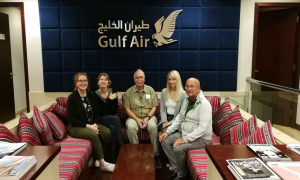 German Media Take Off with Gulf Air to Colombo